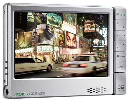 Archos 605 Wi-Fi multi-media player