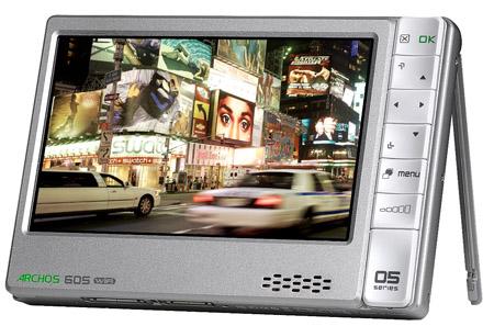 Archos 605 Wi-Fi multi-media player