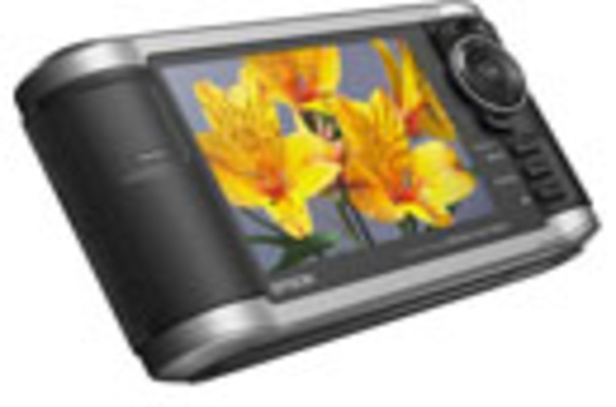 Epson P 3000 Photo Viewer And Media Player The Register