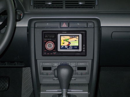 TomTom embedded in a Toyota Yaris