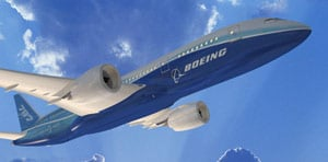 Boeing's 787 Dreamliner. Photo: Boeing