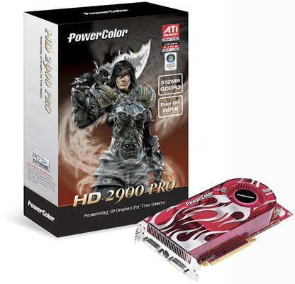 PowerColor's AMD ATI Radeon HD 2900 Pro