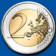 The new euro coin without Turkey