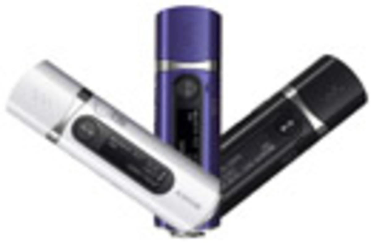 Sony Walkman Nwd B105 2gb Mp3 Player The Register