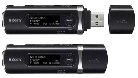 Sony NWD-B105 MP3 player in black