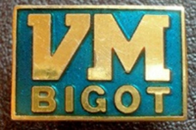 VM bigot badge