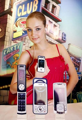 Samsung's music phones... and fan