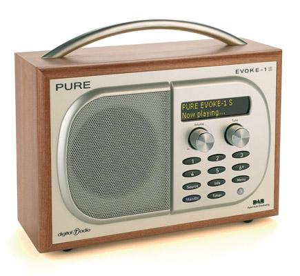 Pure Digital Evoke 1-S DAB digital radio