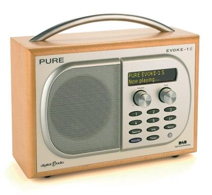 Pure Digital Evoke 1S DAB digital radio