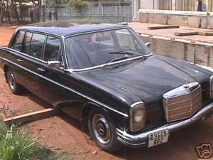 Pol Pot's Mercedes as seen on eBay