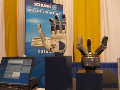 Big robotic hands of doom
