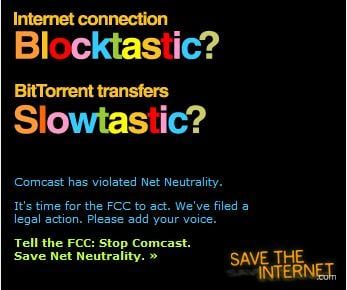 SaveTheInternet's Fake Comcast Ad