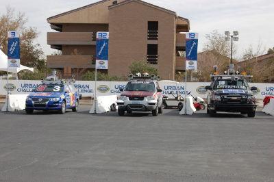 The three winning vehicles