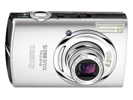 Canon Ixus 860 IS digital camera