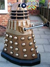 A photo of Simon Morrell's Dalek