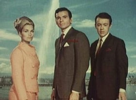 Alexandra Bastedo, Stuart Damon and William Gaunt