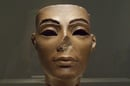 A statue of Queen Nefertiti, Tutankhamun's mother