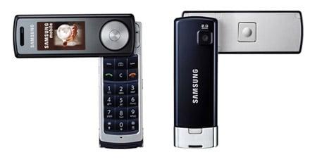 Samsung F210 music mobile phone