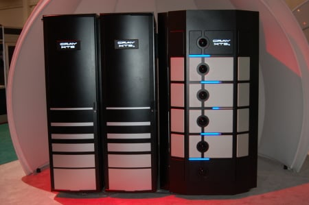 Shot of Cray's XT5 giant