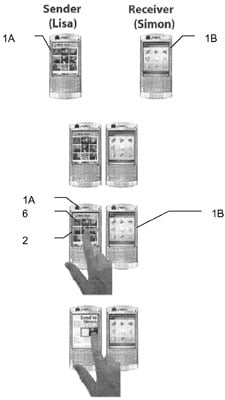 Sony Ericsson's patent application