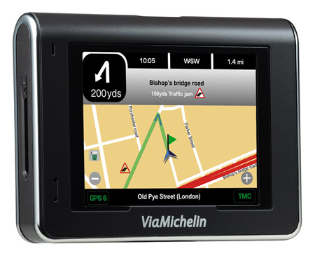 Via Michelin X970T satnav