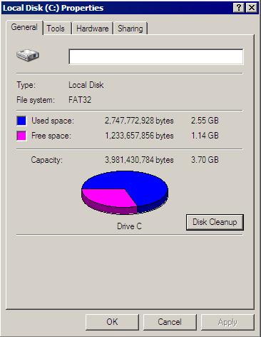 Eee PC with Windows XP