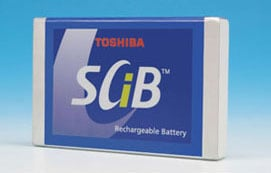 Toshiba Super Charge Ion Battery cell