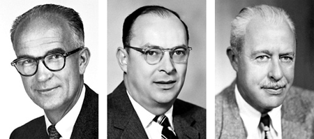 Shockley, Bardeen and Brattain