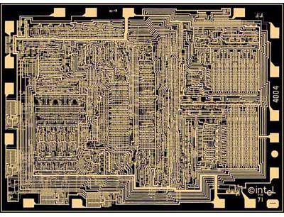 Intel's 4004 microprocessor