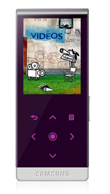 Samsung YP-T10 MP3 player
