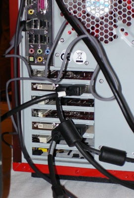 AMD's RV635 driving DisplayPort