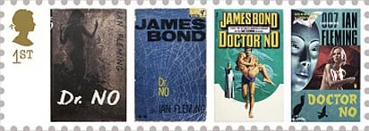 The first-class Dr No stamps