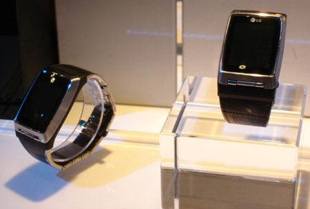 LG's hush-hush watchphone