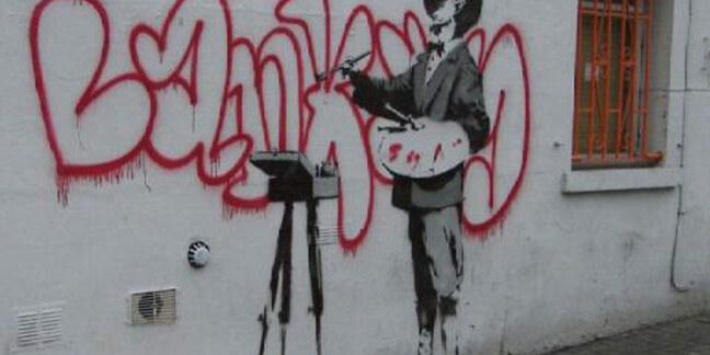 Banksy's Portobello Road artwork
