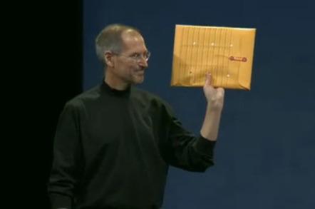 Steve Jobs and Air