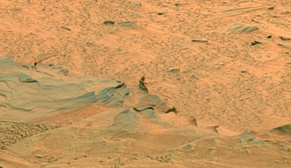 A closer look at the mystery Martian figure