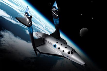 Virgin Galactic's SpaceshipTwo