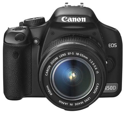 Canon EOS 450D DSLR