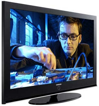 Samsung PS42Q97HDX - Doctor Who photo courtesy BBC
