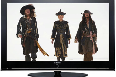 Samsung PS42Q97HDX - Pirates of the Carribean photo courtesy Disney Home Entertainment