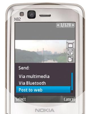 Nokia N82 blogposting