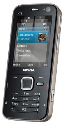 Nokia N78 mobile phone handset