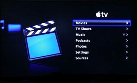 Apple TV UI Take One