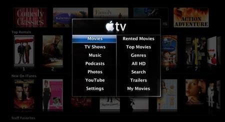 Apple TV UI Take Two