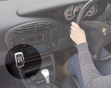 Venturi Mini in-car FM music streamer