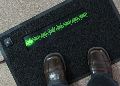 invaders_doormat_animated