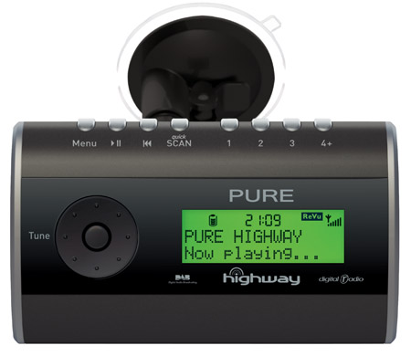 pure highway in car dab radio the register. Black Bedroom Furniture Sets. Home Design Ideas