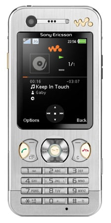 Sony Ericsson W890i mobile phone