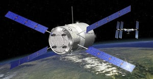 Artist's impression of the ATV approaching the ISS. Pic: ESA