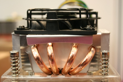 Close of heatsink